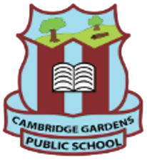 Cambridge Gardens Public School logo